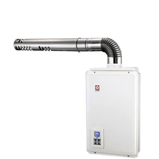 圖片 (無安裝)櫻花16公升強制排氣(與H1680/H-1680同款)熱水器天然氣H-1680N-X