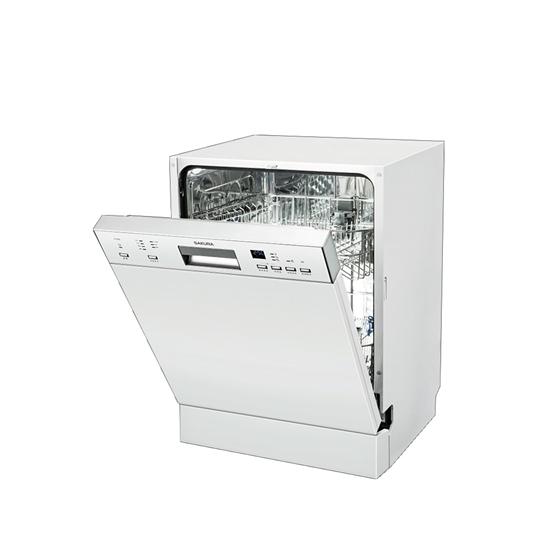 (無安裝)櫻花半嵌入式洗碗機E-7682-X
