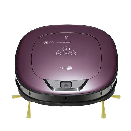 圖片 【結帳享優惠】LG樂金 掃地機器人WIFI(濕拖地)防毛髮糾結刷頭吸塵器VR6690TWVV