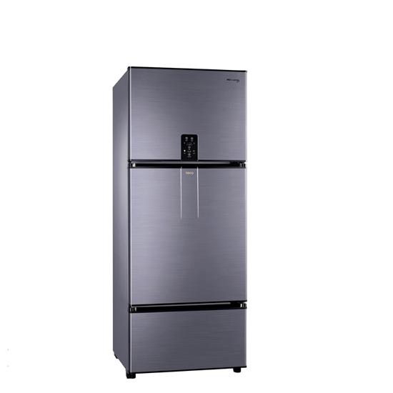 可用5倍券 東元610公升三門變頻冰箱鈦空灰R6181VXHS