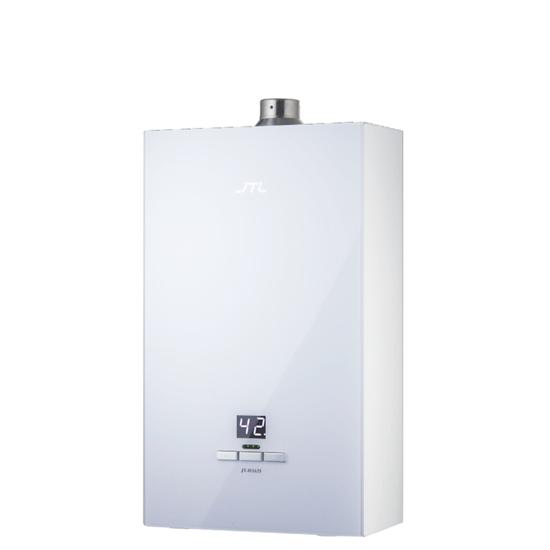 圖片 (無安裝)喜特麗16公升強制排氣數位恆溫玻璃面板(與JT-H1635同款)熱水器桶裝瓦斯JT-H1635_LPG-X