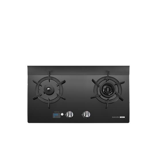 圖片 (無安裝)櫻花雙口檯面爐黑色(與G-2926G同款)瓦斯爐桶裝瓦斯G-2926GL-X