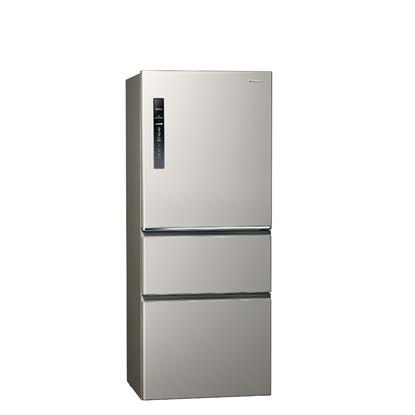 Panasonic國際牌500公升三門變頻鋼板冰箱絲紋灰NR-C501XV-L