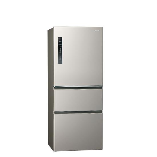 圖片 Panasonic國際牌500公升三門變頻鋼板冰箱絲紋灰NR-C501XV-L
