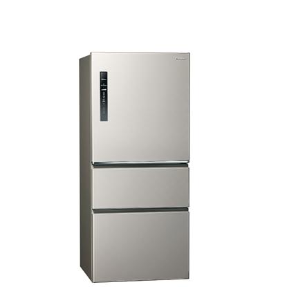 Panasonic國際牌610公升三門變頻鋼板冰箱絲紋灰NR-C611XV-L