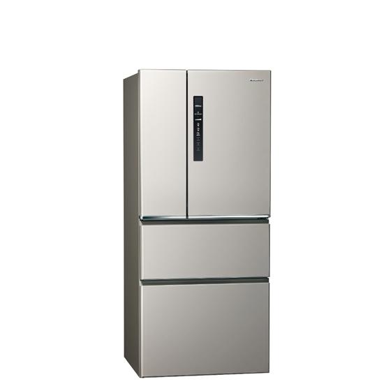 圖片 Panasonic國際牌610公升四門變頻鋼板冰箱絲紋灰NR-D611XV-L