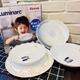 挖寶清倉法國樂美雅雪花5件餐具組贈品LUMINARC5PCS