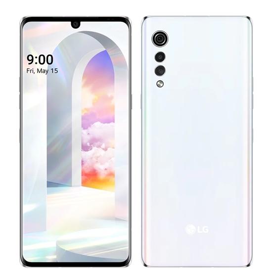 圖片 LG樂金5G智慧手機6G/128G/VELVET奶霜克林姆手機白色LMG900EMW-W