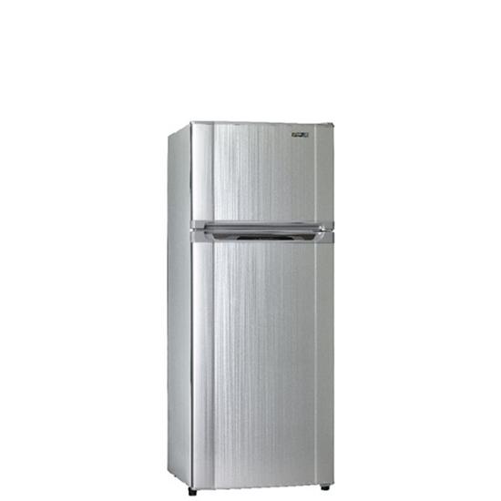 聲寶340公升雙門變頻冰箱不鏽鋼色SR-B34D(G6)