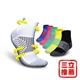 亞斯多銀離子抗菌永久消臭運動足弓鐵人襪單入-電