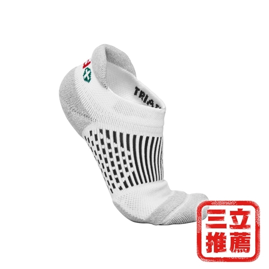 圖片 亞斯多銀離子永久消臭足弓船型襪(三入)顏色隨機-電