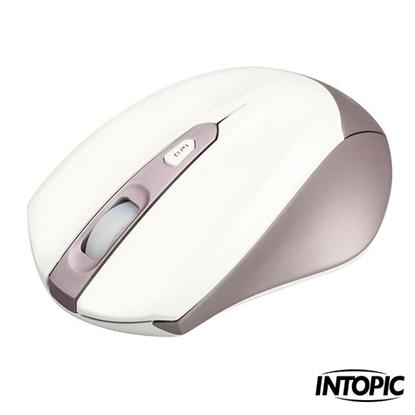 圖片 【INTOPIC】2.4GHz飛碟無線光學鼠(MSW-570)