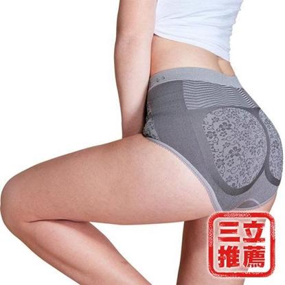 【京美】健康竹炭銀纖維提臀褲(5件組)-電