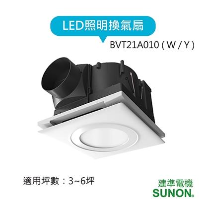 換氣/照明二合一:省空間、除濕、通風 ;LED高質感自然光色溫(白/黃光)