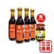 【民生壺底油精】素顏黑豆醬油4入+辣味黑豆瓣醬1入-電