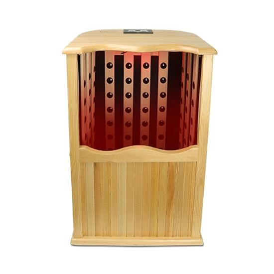 圖片 【康生】加拿大原木360度養生桑拿屋(電氣石泡腳機)-電