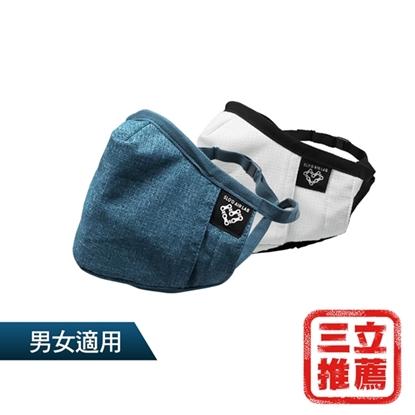 雙色超值(新)P99頂規防護口罩2入組(送N100高效濾心12片)-電