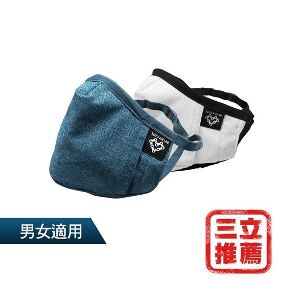 圖片 雙色超值(新)P99頂規防護口罩2入組(送N100高效濾心12片)-電