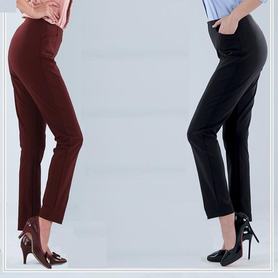 圖片 VERTEX 100%日本製 零水感溫控調節美型褲(單件組)-電