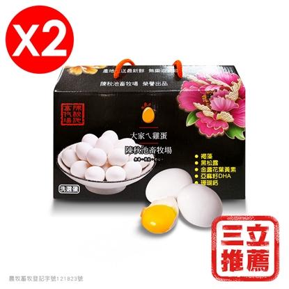 【芳苑鄉】五星級健康草本機能蛋(白蛋)/二箱-電