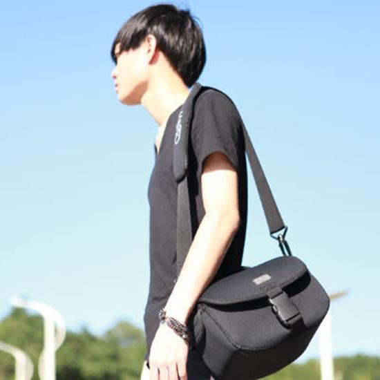 Obien歐品漾O-CAMATE多功能數位相機包-黑色(單眼相機適用)
