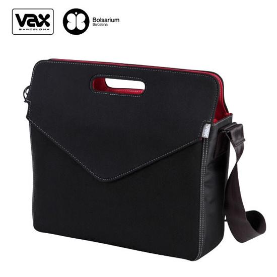 【VAX BOLSARIUM 】圖塞特訊息筆電公事包/筆電包13.5/15.4吋