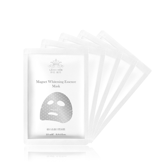 圖片 【勞拉蜜兒】 磁石晶澈白皙面膜(白) 30入組
