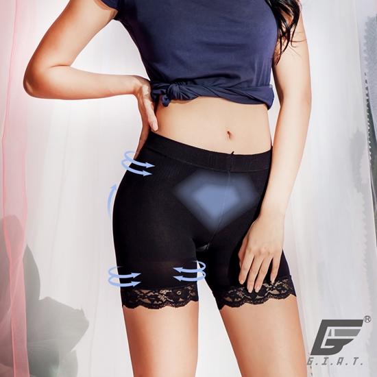 圖片 【GIAT】台灣製180D肌涼感魔法內搭塑褲(3件組)