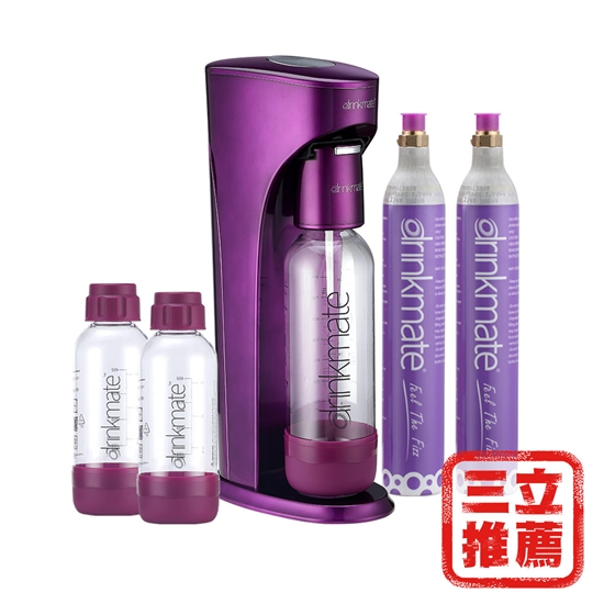 圖片 【美國Drinkmate】Rhino 410氣泡水機(犀牛機、氣泡機) / 全配-電
