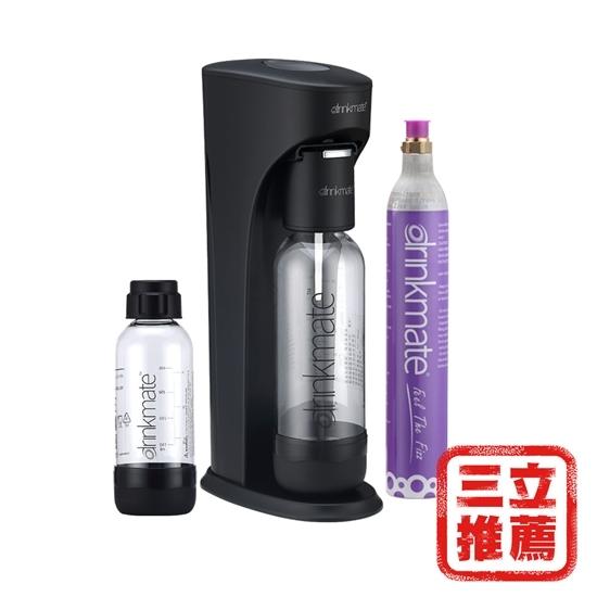 圖片 美國Drinkmate 氣泡水機(犀牛機)黑/白/藍-美