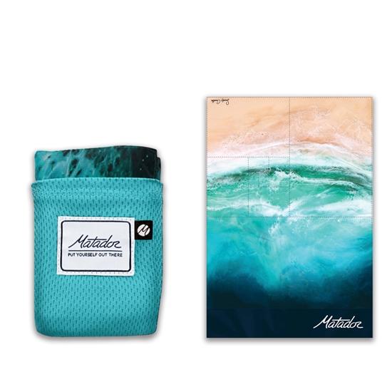 圖片 Matador POCKET BLANKET口袋型野餐墊-海洋版