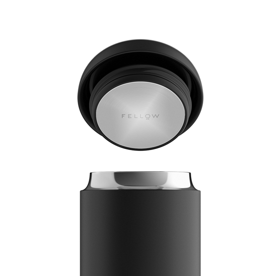 圖片 FELLOW Carter 卡特咖啡真空保溫瓶16oz-磨砂黑 / 霧面白 / 清水灰