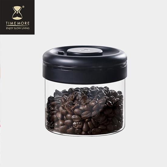 圖片 Timemore泰摩真空保鮮玻璃密封罐- 400ml(黑蓋)