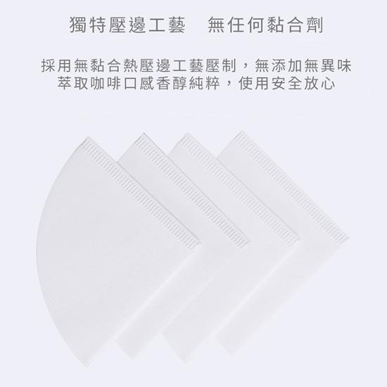 圖片 TIMEMORE泰摩 淨白型咖啡濾紙-50張 (三種尺寸可選)