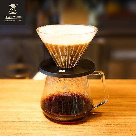 圖片 TIMEMORE泰摩(玻璃)冰瞳手沖咖啡濾杯02號-(2~4人份)『2入組』