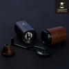 圖片 Timemore泰摩栗子G1+PLUS 頂級手搖磨豆機(胡桃木粉桶)-藏青黑(E&B升級鍍鈦全能磨芯)