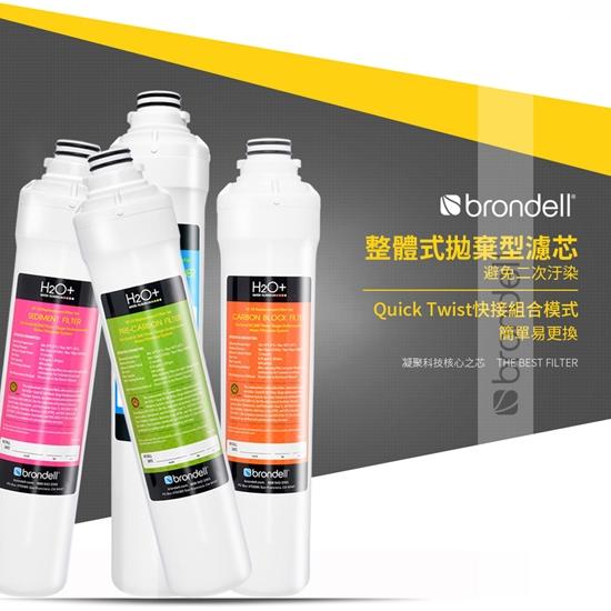 美國Brondell原裝進口整體拋棄式濾芯,環保省時杜絕二次汙染