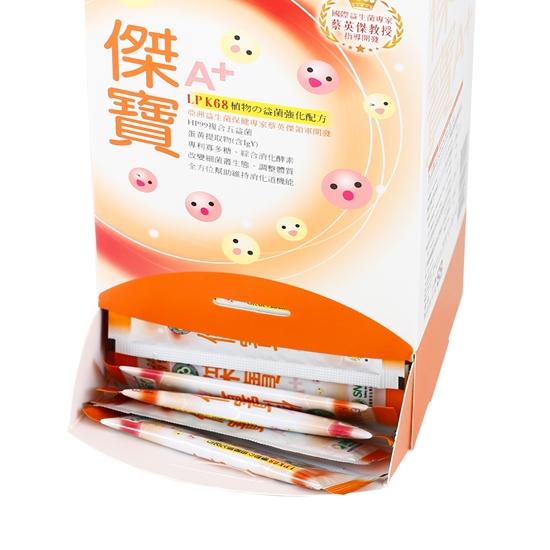 圖片 長青寶 傑寶益生菌60包盒3盒組 台灣之光益生菌 不要壞壞幽門菌 想要腸不漏 專利菌株才足夠