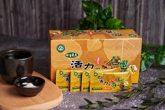 圖片 長青寶 神清氣爽活力飲36包5盒組 天然中藥 不含咖啡因 取代含糖飲料