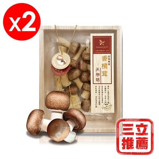 圖片 樂活生技-香檳茸天形菇2入禮盒組(巴西蘑菇)-電
