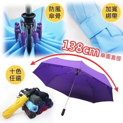 【Kasan 晴雨傘】新大無敵自動開收雨傘