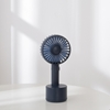 圖片 HealthLife 手持電動擺頭風扇/桌扇 (USB充電式-五段風量)