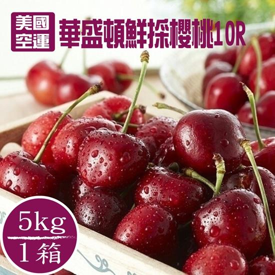 圖片 美國鮮採空運頂級黑鑽櫻桃5公斤(搶鮮組)