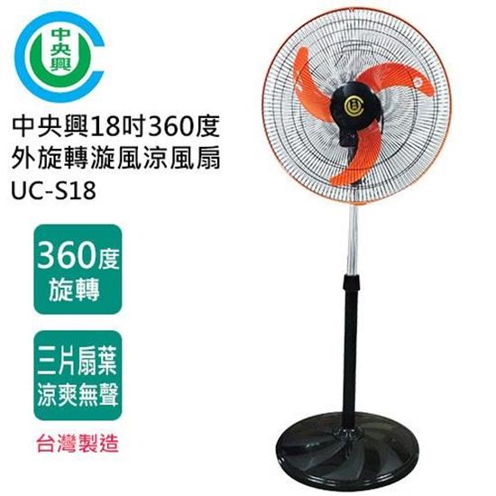 中央興 電風扇 18吋