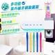 【家適帝】紫外線多功能牙刷消毒防蟑收納架 (贈自動擠牙膏器)