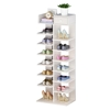 圖片 【家適帝】創新雙骨加穩多格收納鞋櫃 2入 (8層/14格)