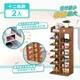【家適帝】創新雙骨加穩多格收納鞋櫃 2入 (7層/12格)
