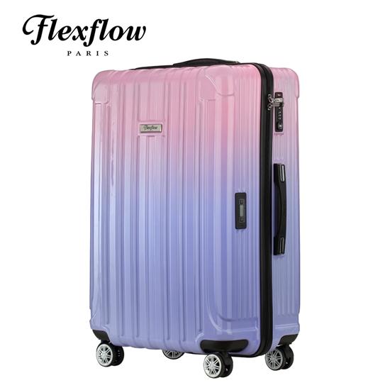 圖片 Flexflow 夢幻色票 29吋 智能測重防爆拉鍊旅行箱 里昂系列 29吋行李箱
