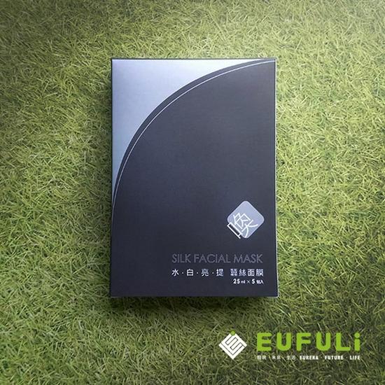 圖片 [亮白必備] EUFULi水.白.亮.提 蠶絲面膜