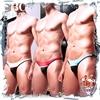 圖片 【I-no-logo】筋肉體操冰絲日式小三角褲 時尚 男三角褲 激凸 性感 BF0028